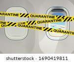 airplane illuminator and tape...   Shutterstock .eps vector #1690419811