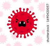 coronavirus  covid 19.... | Shutterstock .eps vector #1690420057