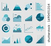 business data market elements... | Shutterstock .eps vector #1690451314
