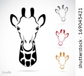 Vector Image Of An Giraffe Hea...