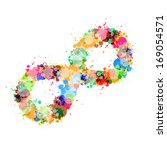 Abstract Vector Colorful Stain...