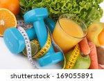 diet food | Shutterstock . vector #169055891