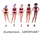 vector illustrations set of... | Shutterstock .eps vector #1690591687
