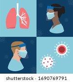 coronavirus disease  covid 19...   Shutterstock .eps vector #1690769791