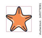 star fill style icon design sea ... | Shutterstock .eps vector #1690778581