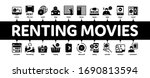 renting movies service minimal... | Shutterstock .eps vector #1690813594