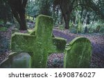 Old Abandoned Graveyard In...