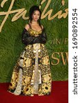 Small photo of London, United Kingdom- December 4, 2017: FKA Twigs attends The British Fashion Awards at The Royal Albert Hall in London, UK.
