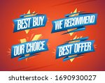 best buy  we recommended  our...   Shutterstock .eps vector #1690930027