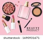 Realistic Cosmetics Make Up Set ...