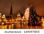 riga  latvia   december 12  old ... | Shutterstock . vector #169097855