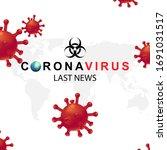 new coronavirus 2019 nkov. the... | Shutterstock .eps vector #1691031517