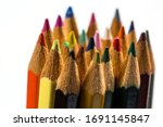 colored pencils for drawing and ...   Shutterstock . vector #1691145847