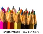 colored pencils for drawing and ...   Shutterstock . vector #1691145871