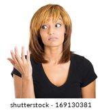 closeup portrait of pretty... | Shutterstock . vector #169130381