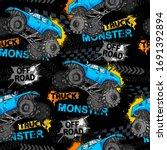 abstract seamless grunge... | Shutterstock .eps vector #1691392894
