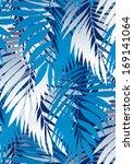 palm leaves. | Shutterstock . vector #169141064