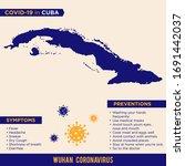 cuba   american continent... | Shutterstock .eps vector #1691442037