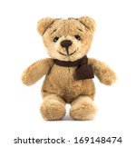 Teddy Bear Brown Color With...