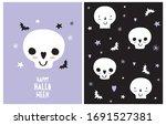 halloween vector decoration for ...   Shutterstock .eps vector #1691527381