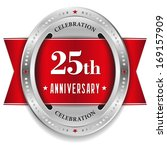 red twenty five year... | Shutterstock .eps vector #169157909