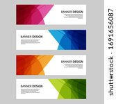 Vector Abstract Banner Web...