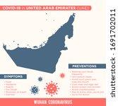 united arab emirates  uae   ... | Shutterstock .eps vector #1691702011
