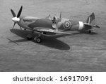 A British Spitfire Fighter...