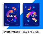 creative design poster with...   Shutterstock .eps vector #1691767231
