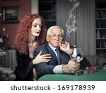 the old boss | Shutterstock . vector #169178939