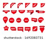 set of various tags with new... | Shutterstock . vector #1692083731