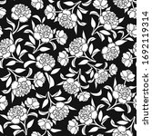 vector seamless pattern with... | Shutterstock .eps vector #1692119314