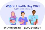 world health day on 7 april... | Shutterstock .eps vector #1692190594