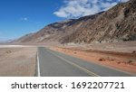 Badwater Road In The Death...