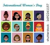 international women's day... | Shutterstock .eps vector #1692261157