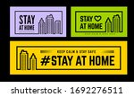 """stay at home keep calm and... 