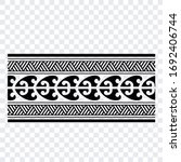 tattoo arm band tattoo hand...   Shutterstock .eps vector #1692406744