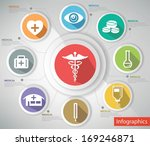 medical concept abstract... | Shutterstock .eps vector #169246871
