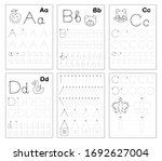 set of black and white... | Shutterstock .eps vector #1692627004