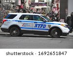 Nypd Police Car  Ford Explorer...