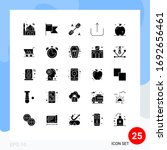 solid glyph pack of 25...
