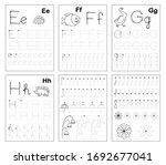 set of black and white... | Shutterstock .eps vector #1692677041