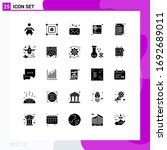 universal icon symbols group of ... | Shutterstock .eps vector #1692689011