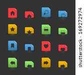 website design interface icons...