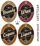 set of retro labels for various ... | Shutterstock .eps vector #169275164