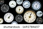 multiply time clock faces... | Shutterstock . vector #1692784657