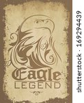 eagle legend. | Shutterstock . vector #169294439