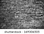 Old Wall Of Stone Bricks...