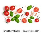 Tomato  Basil  Spices  Pepper ...