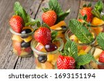 Fruit Cup With Various Fruits...